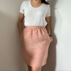 Forever21 Pink Pencil Skirt